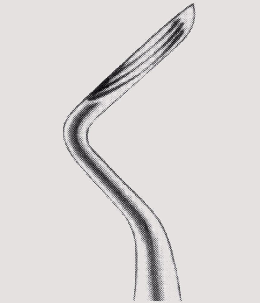 Root Elevator Kopp 4,2mm tandarts instrument
