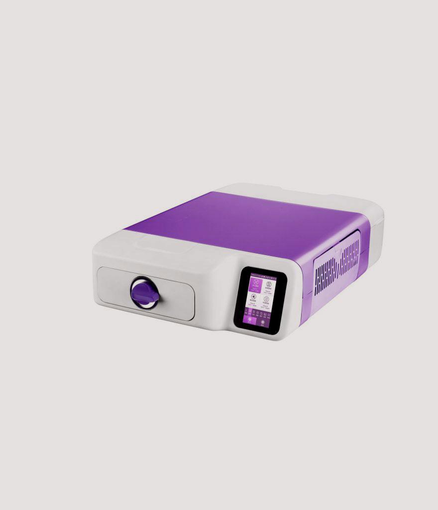 Cassette autoclaaf met 10 minuten sterilisatietijd